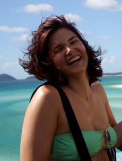 Le bonheur se lit sur son visage, aux Whitsundays Islands en Australie