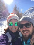 Selfie en montagne