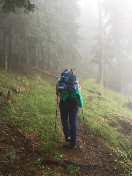 Julie dans le brouillard