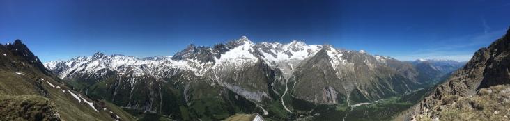Panorama du sommet