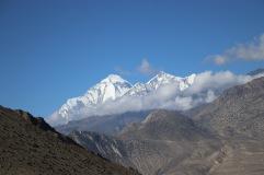 Vue montagne Dhaulagiri
