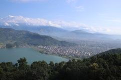 Vue sur Pokhara