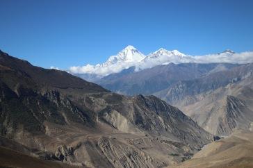 Vue sur le Dhaulagiri