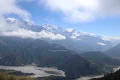 Vue des Annapurna