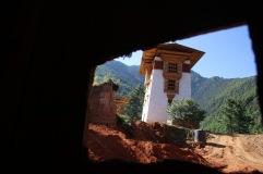 Reconstruction du Dzong