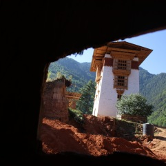Reconstruction du Dzong