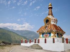 Heaven stupa