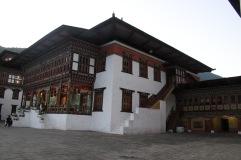 Intérieur du Dzong