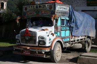 Camion bhoutanais