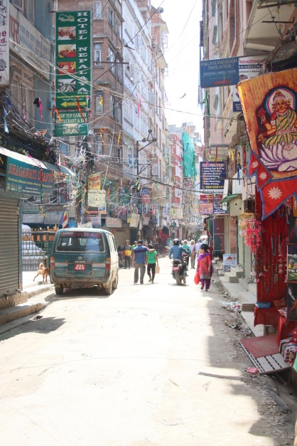 Ruelle de Kathmandu