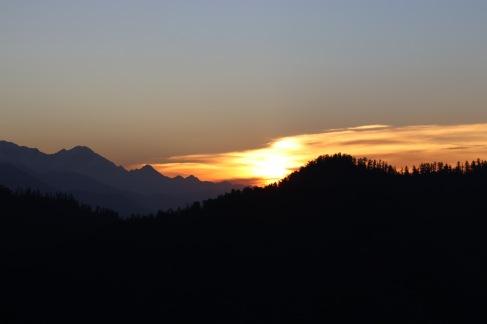 Lever de soleil à Poon Hill
