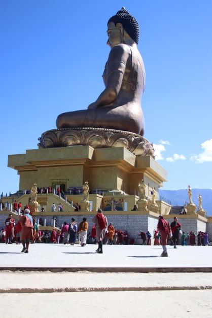 Big sitted Bouddha