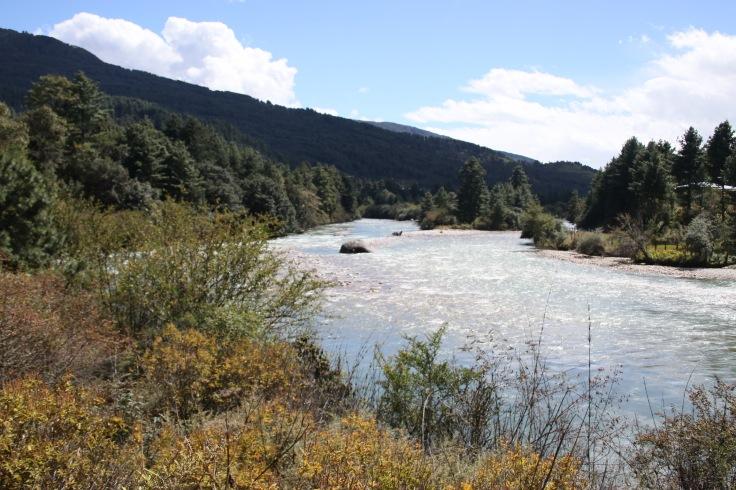 Rivière Chamkhar chhu