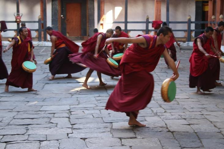 Danse traditionnelle bhoutanaise