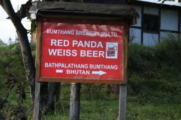 Bière suisse au Bhoutan