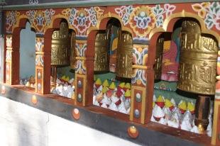 Moulins de prière et stupas