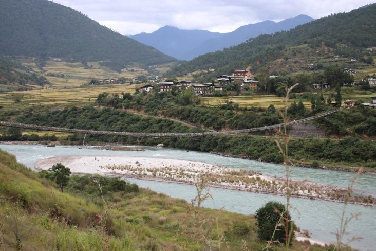 Pont suspendu bhoutan