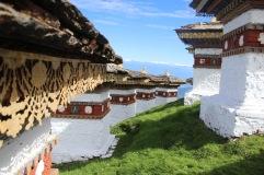 Alignée de stupas