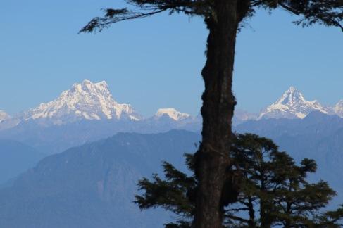 Himalaya bhoutan/dochula pass