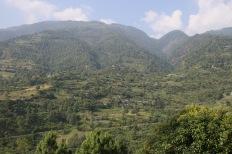 Vue de la vallée de Trashigang