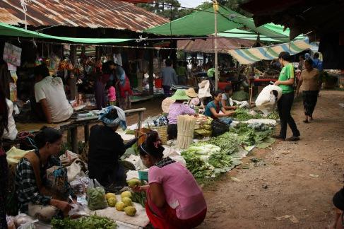 Les légumes du marché