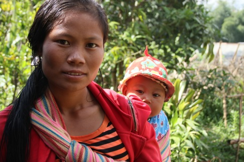 Maman Pao et son bébé