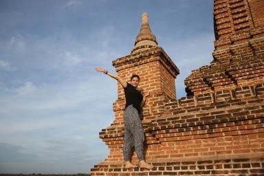 Julie sur son temple
