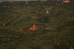Les temples vu de dessus