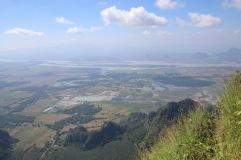 Vue depuis le mont Zwe Ga Bin