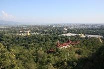 Vue depuis la Mandalay Hill