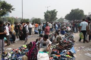 Chaussures au marché