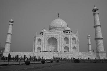 Le Taj Mahal noir & blanc