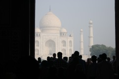 Le rideau se lève sur le Taj Mahal