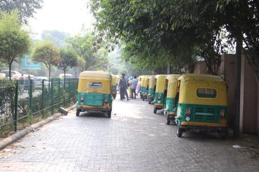 Station de rickshaw