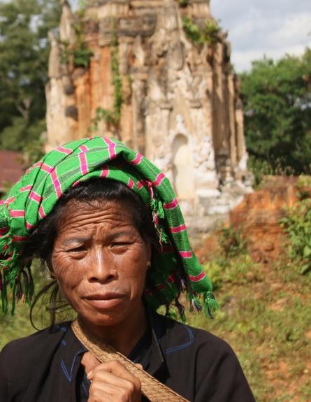 Femme de la tribu Pao