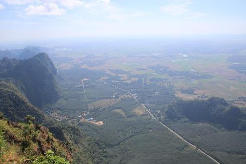 Vue du mont Zwe Ga Bin