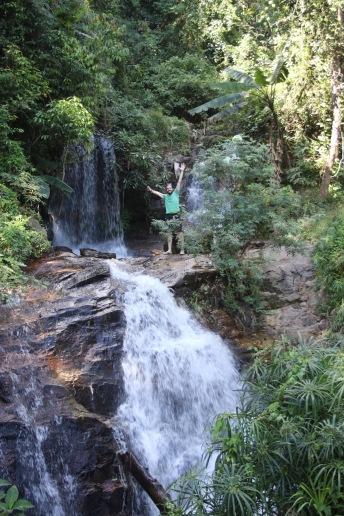 Julien et les cascades