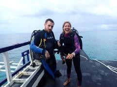 On s'équipe pour plonger