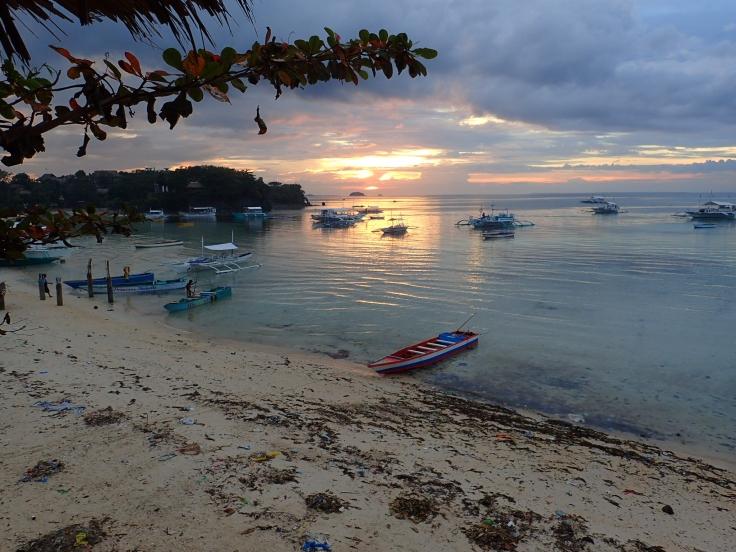 Coucher de soleil à Malapascua