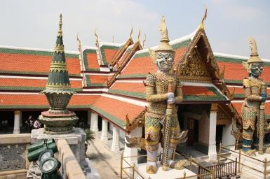 Bâtiment du Wat Phra Kaew