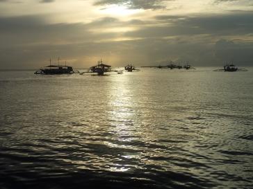 Coucher de soleil à Panglao