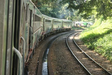 Train circulaire Yangon