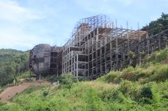 Deuxième Bouddha en construction