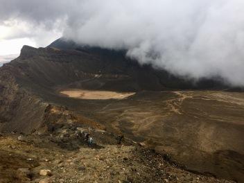 Vue du cratère