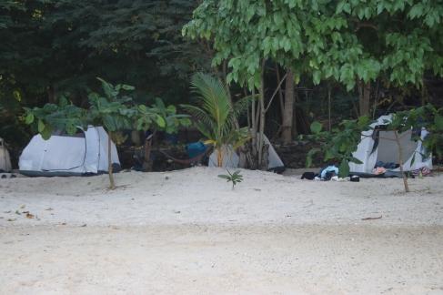 Campement dernière nuit