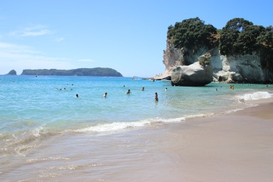 Plage de Cathedral cove