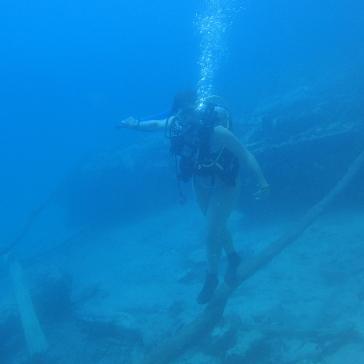 Équilibre sous l'eau