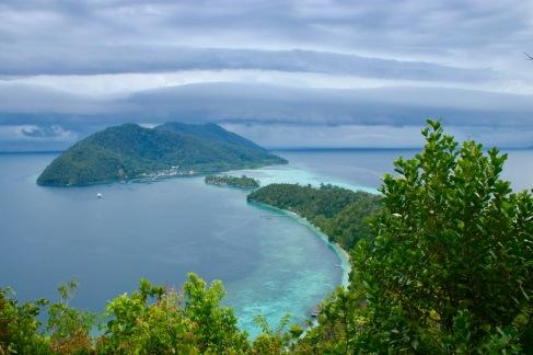 Vue de Pulau Mansuar