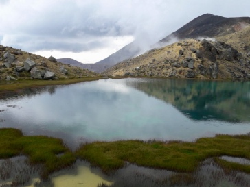 Un des lacs émeraudes