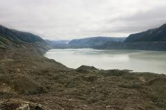 Lac du glacier Tasman